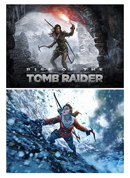 Set Of 2 Rise The Tomb Raider Posters