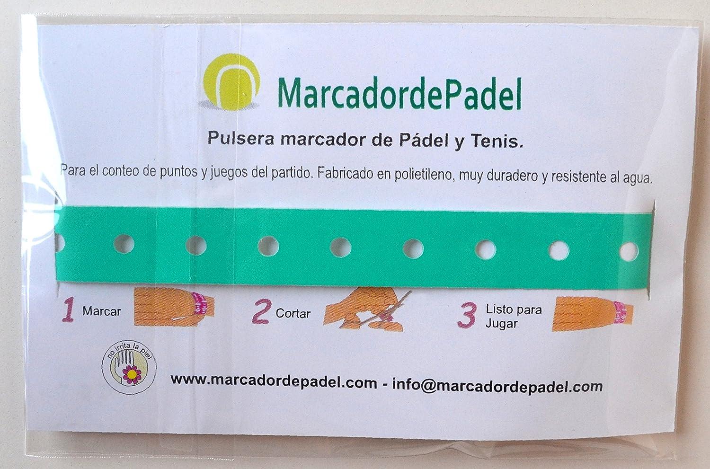 Pulsera marcador de pádel: Amazon.es: Deportes y aire libre