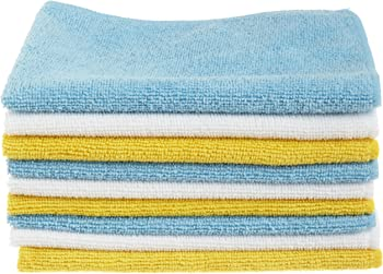 48-Pack AmazonBasics Microfiber Cleaning Cloth