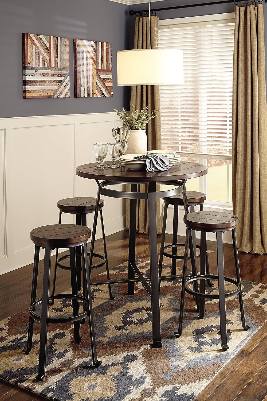 Amazon.com: Ashley Furniture Signature Design - Challiman Dining ...