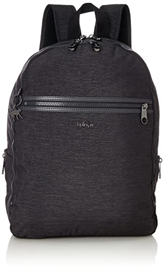Kipling Deeda N, Unisex Adults Backpack, Grey (Spark Graphite), 15x24x45