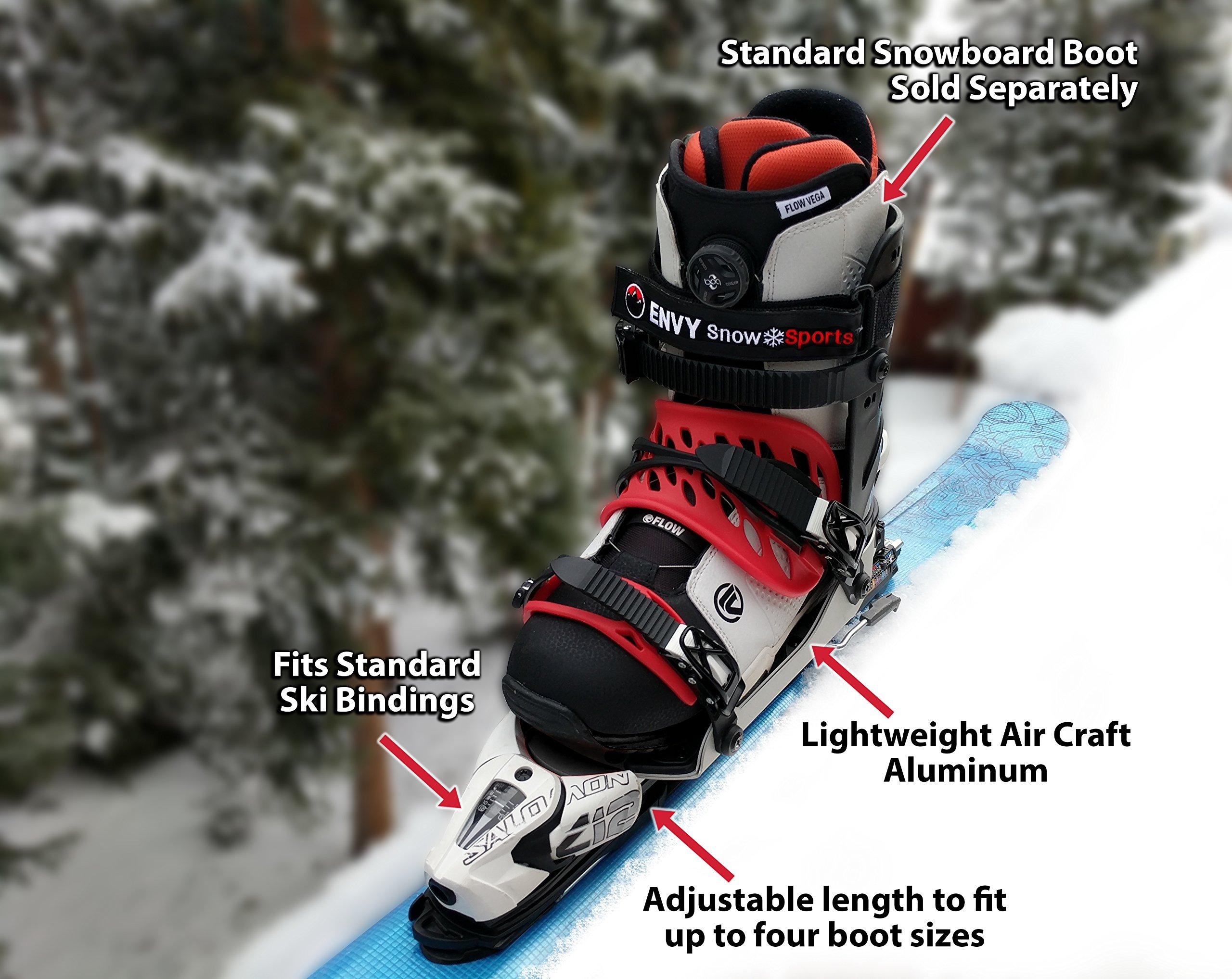 Envy Ski Boot Frame Comfortable Ski Boots