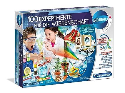 b060f0453656d2 Clementoni 59076 -100 Experimente für die Wissenschaft, Mehrfarben