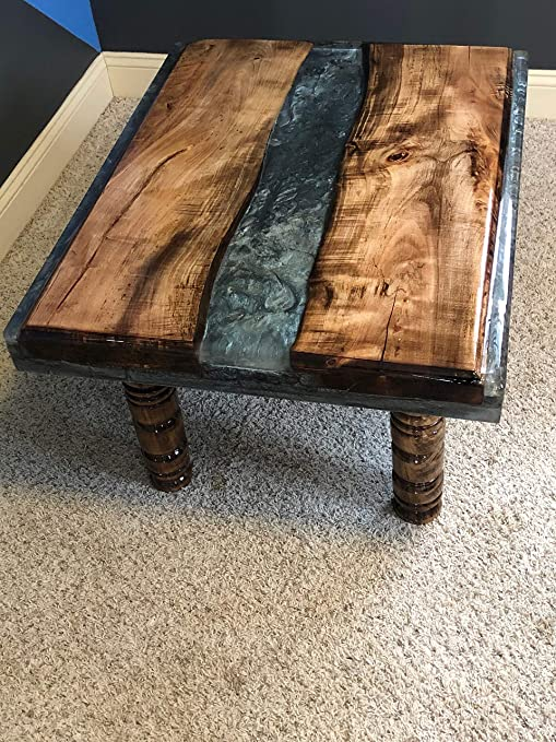 Amazon Com Coffee Table Live Edge Table Spalted Maple