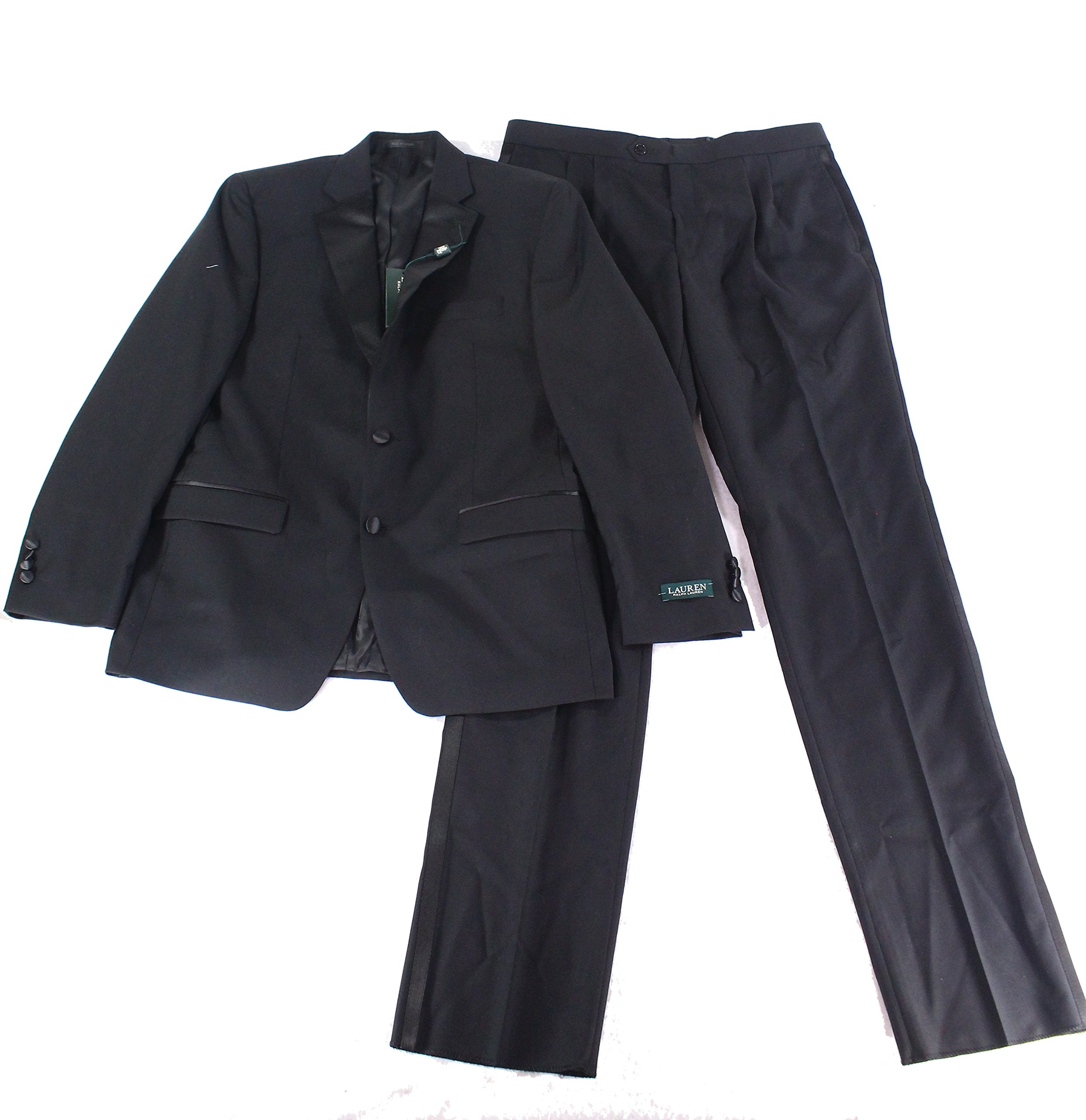 Ralph Lauren Super 130's Wool Tuxedo - 38 Short