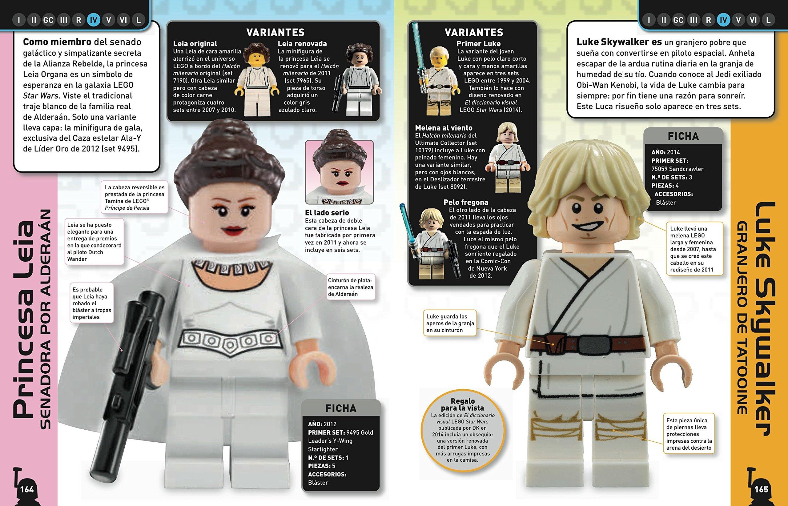 Lego Star Wars. Enciclopedia de personajes: Varios autores ...