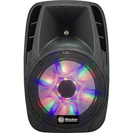 iRocker PA 1000 BriteLite Bluetooth Wireless PA Speaker System