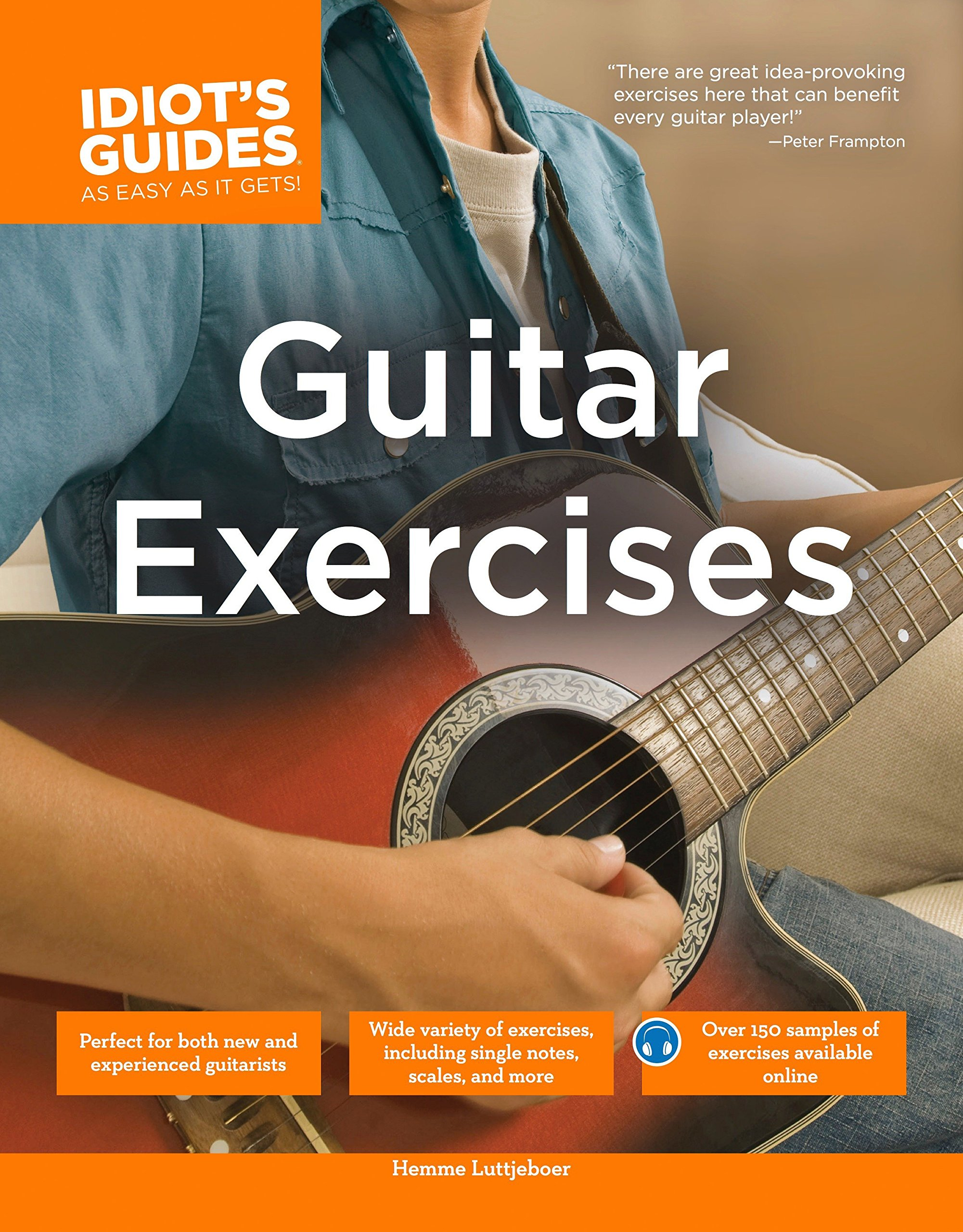 The Complete Idiots Guide To Guitar Exercises Hemme Luttjeboer
