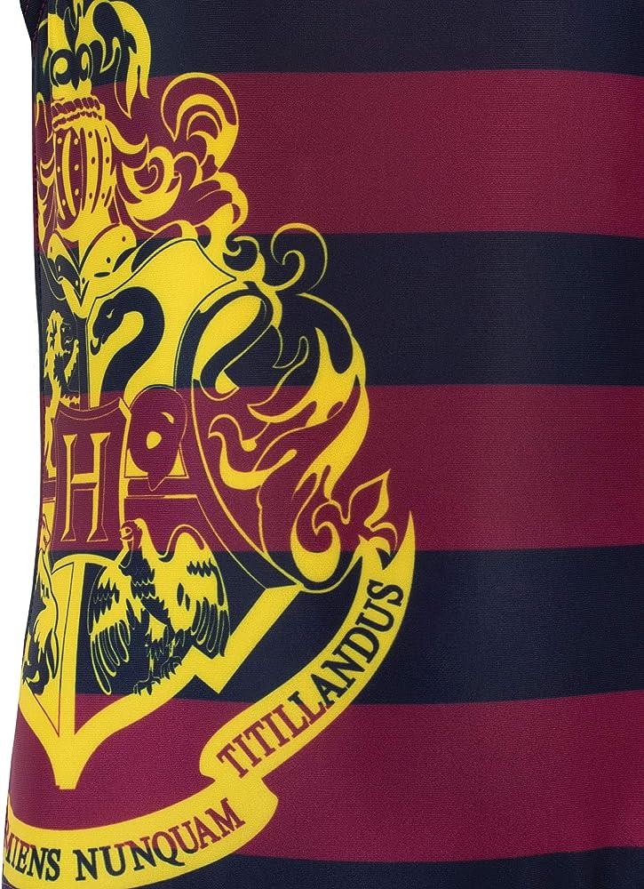 Harry Potter Bañador para Niñas Hogwarts Multicolor 5-6 Años ...