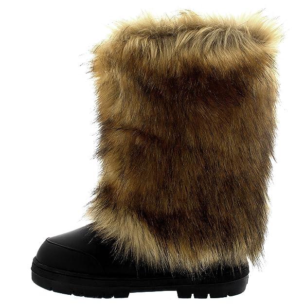 499c10a12f4 Holly Womens Tall Covered Snow Rain Waterproof Yeti Eskimo Winter Boot