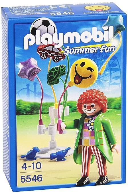 Amazon.com: Playmobil Smiley World globo vendedor Set: Toys ...