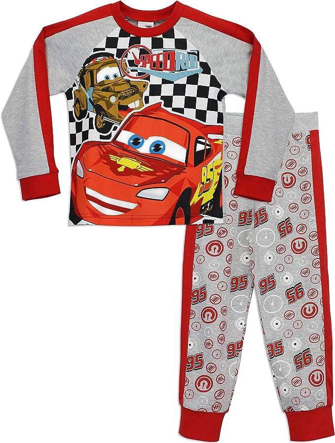 BOY/'S OFFICIAL MERCHANDISE Disney Cars Lightning Mc Queen X boutique pyjama