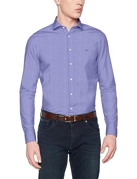 Fil Sfw5, Camisa para Hombre, Rosa (Coral Blush 661), X-Large Tommy Hilfiger