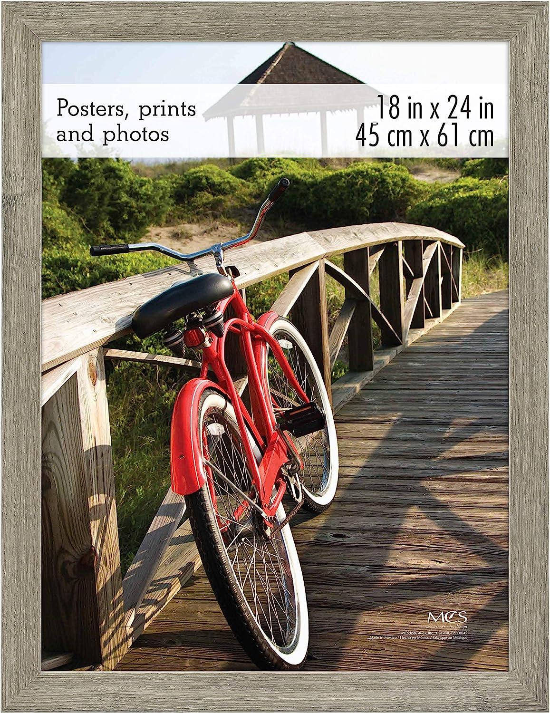 MCS Museum Poster Frame, 18 x 24 Inch, Barnwood