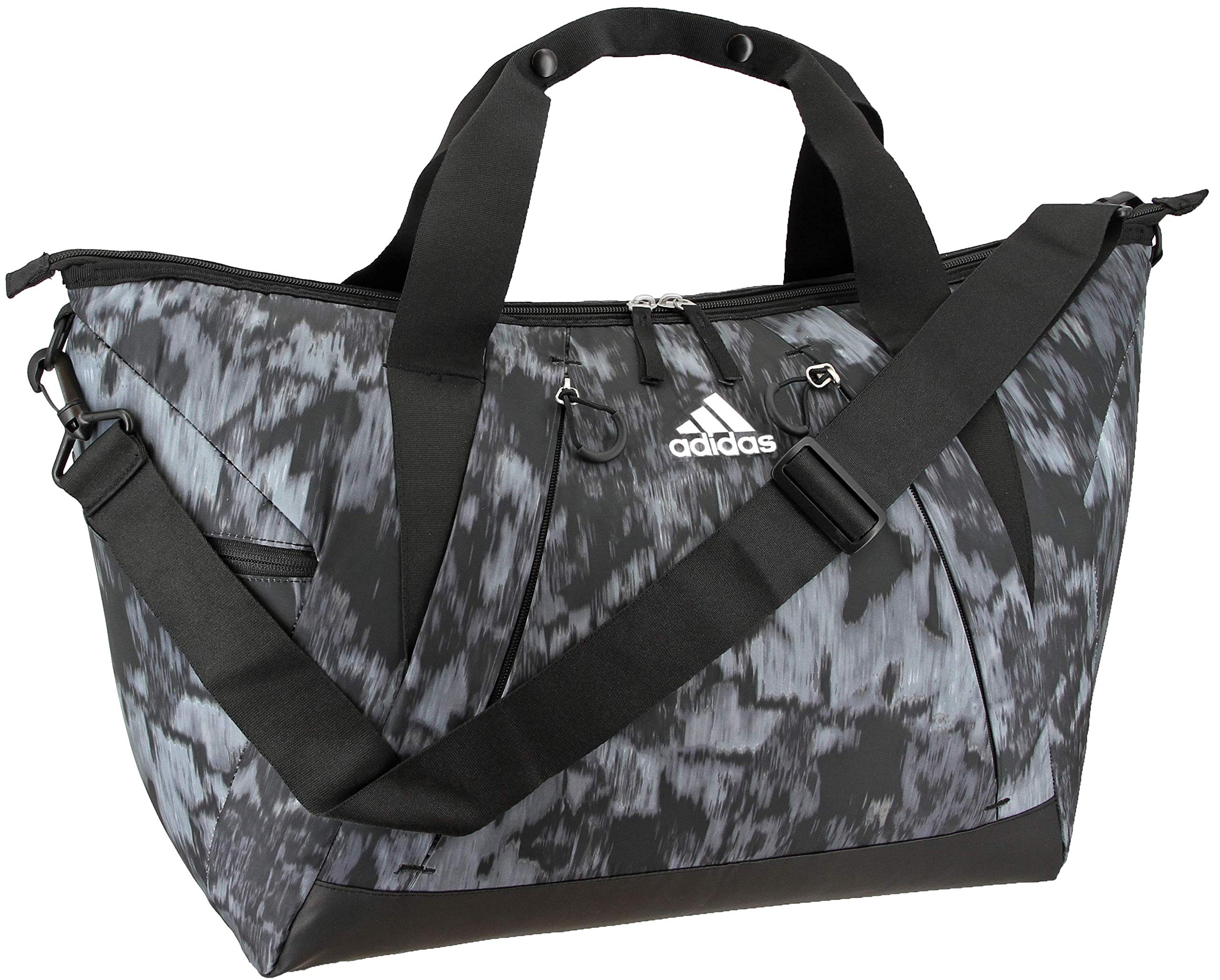 adidas Women's Studio Duffel Bag, Equinox Grey/Black/White, ONE SIZE by adidas