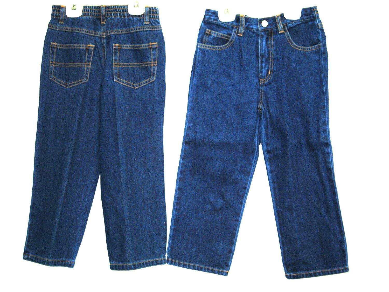Astro Boys Sizes 2//3//4 Denim 5 Pockets Jeans