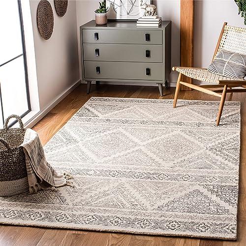 Safavieh Micro-Loop Collection MLP206B Handmade Wool Area Rug