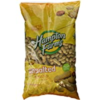 Hampton Farms No Salt Roasted In Shell Peanuts, 5 lb. Bag