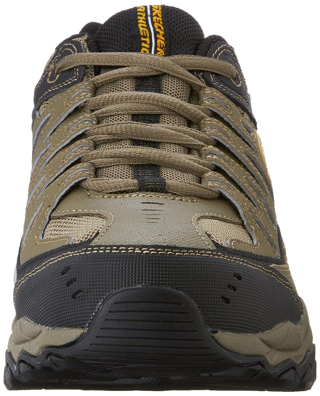 Skechers-Afterburn-Memory-Foam-M-fit-Men-039-s-Sport-After-Burn-Baskets-Chaussures miniature 81