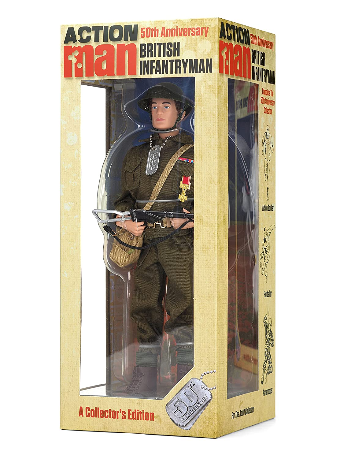 Action Man am716 50TH Aniversario británico Infantryman Figura