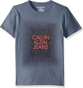 Calvin Klein Boys' Big Crew Neck
