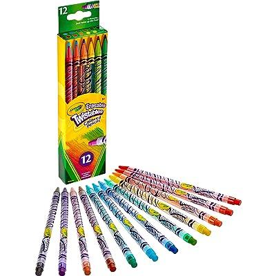 Crayola Erasable Twistables Colored Pencils: Toys & Games