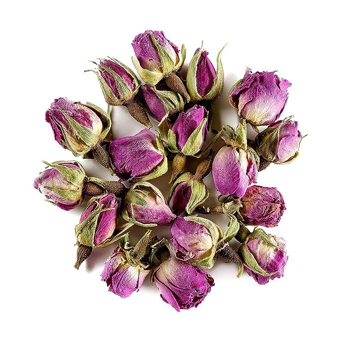 infusion de rosas secas