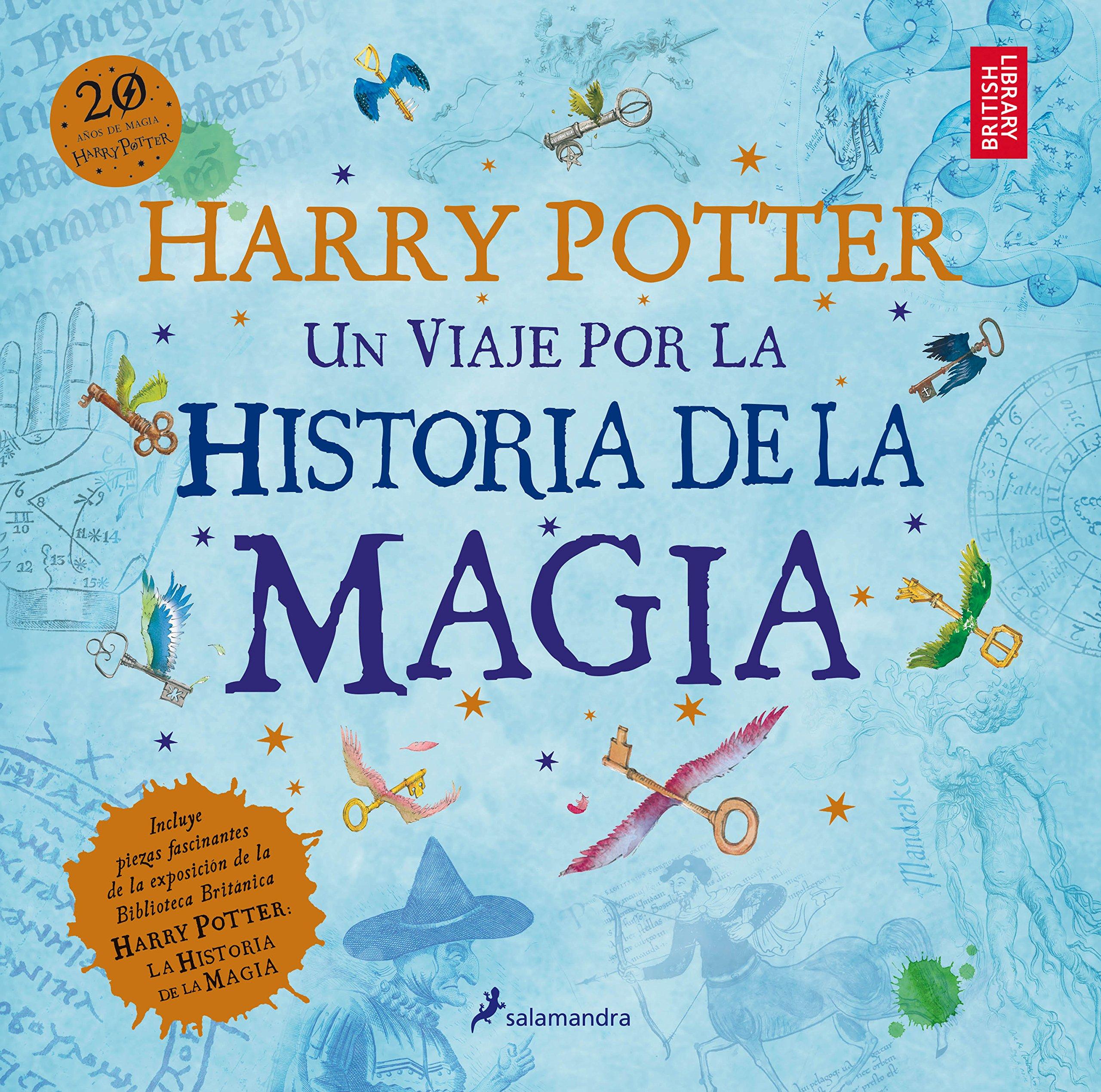 Resultado de imagen de Harry Potter: Un viaje por la historia de la magia, J. K. Rowling