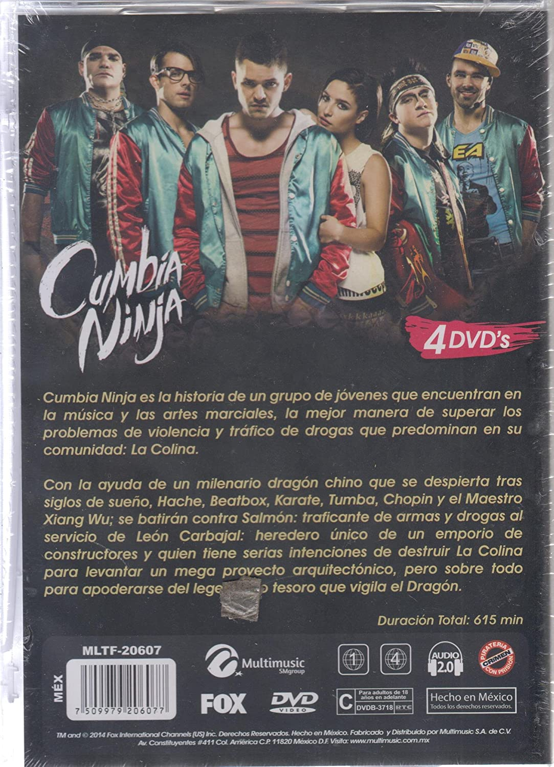 Amazon.com: Cumbia Ninja Primera Temporada: Movies & TV