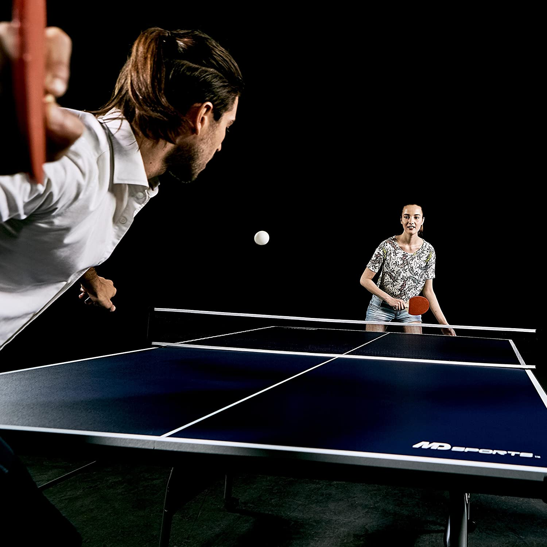 Amazon.com : MD Sports Table Tennis Set, Regulation Ping Pong ...
