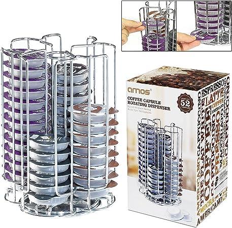 Stainless Steel 80 T-Disc Bosch Tassimo Coffee Pod Capsule Holder Dispenser New