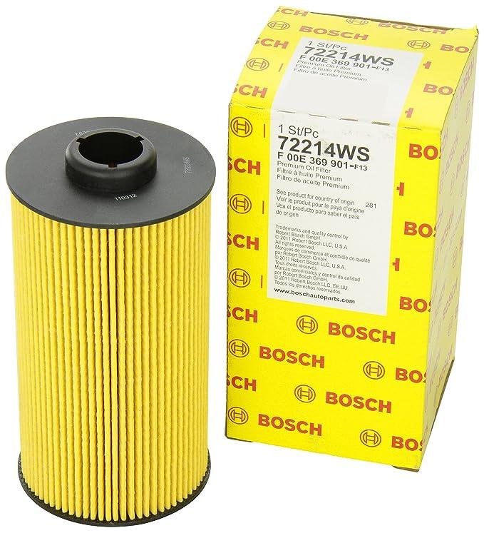 Bosch 72214 WS taller motor filtro de aceite: Amazon.es ...