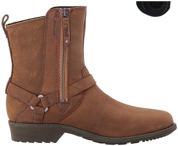 Teva Delavina Dos W's, Bottes Chelsea Femme, Marron (Bison), 36 EU:  Amazon.fr: Chaussures et Sacs