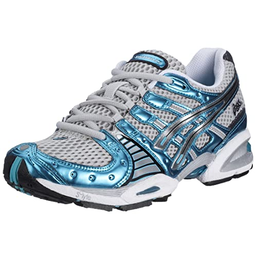 ASICS Gel Nimbus VIII TN685-9191 Damen Sportschuhe - Running, grau (quick  silver 9191)