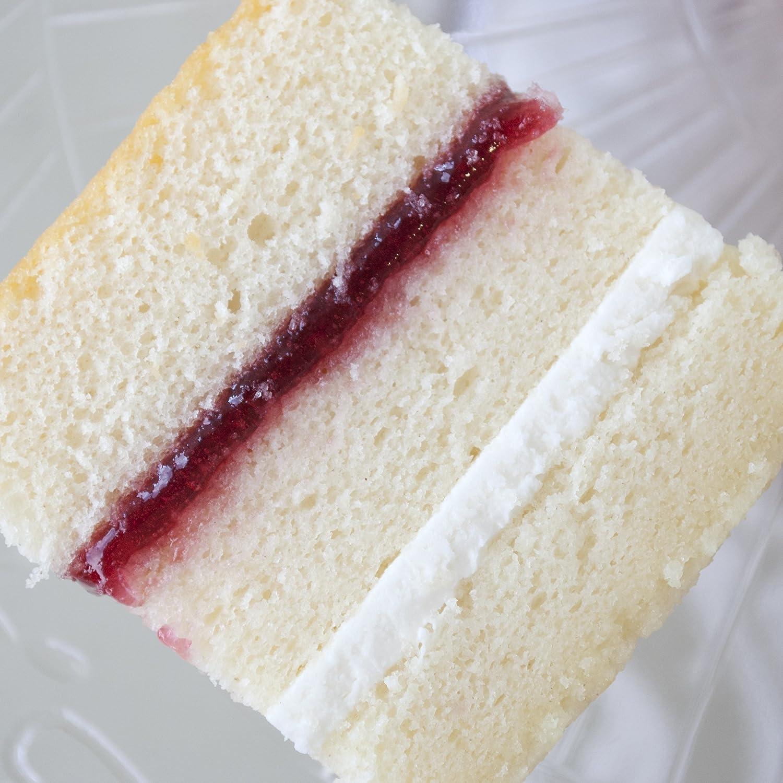 Tremendous 8 Inch Round Fresh Vanilla Sponge Cake Unfilled For Birthday And Personalised Birthday Cards Arneslily Jamesorg