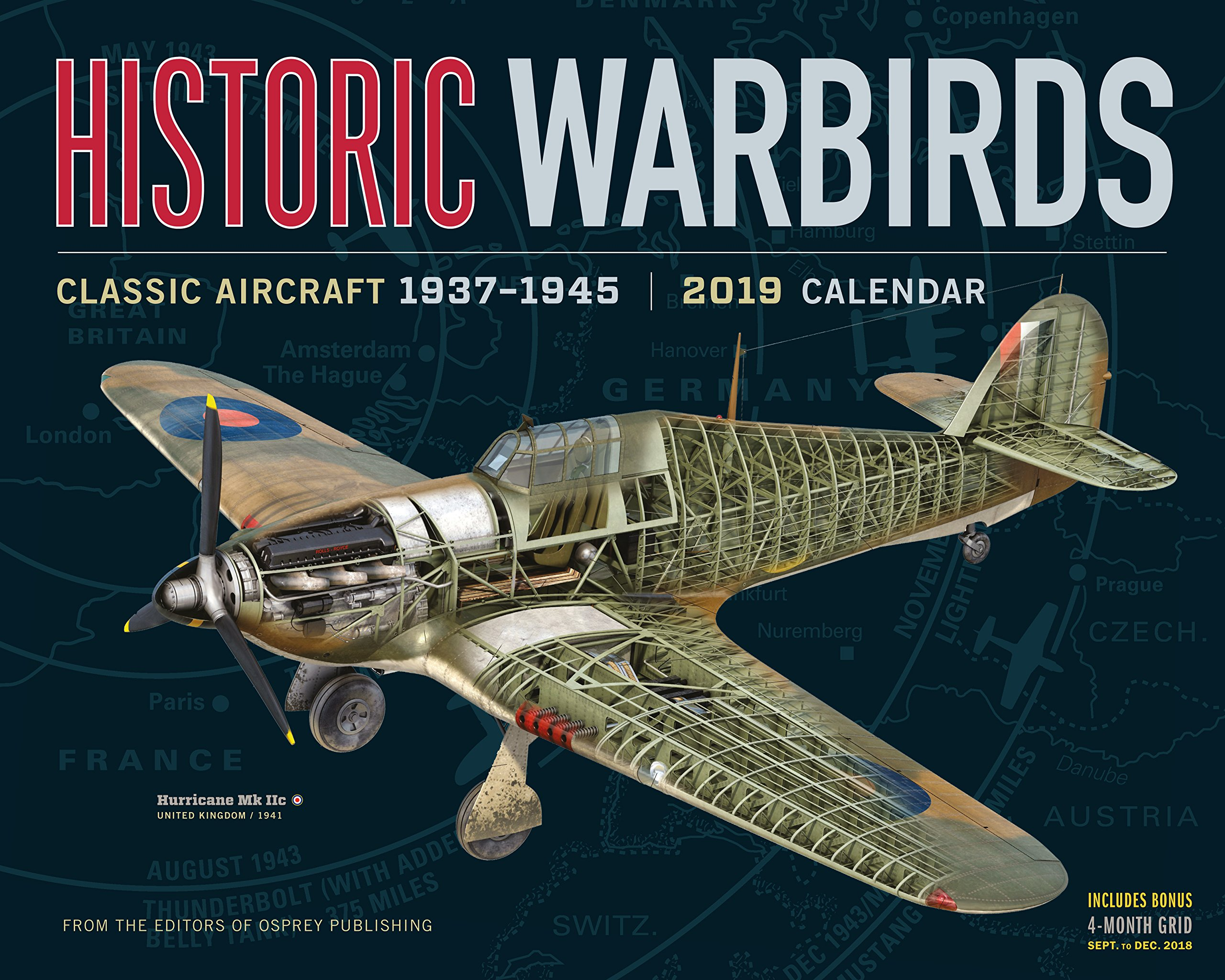 Historic Warbirds Wall Calendar 2019: Workman Publishing
