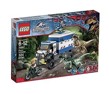Amazon lego jurassic world raptor rampage 75917 building kit lego jurassic world raptor rampage 75917 building kit gumiabroncs Choice Image