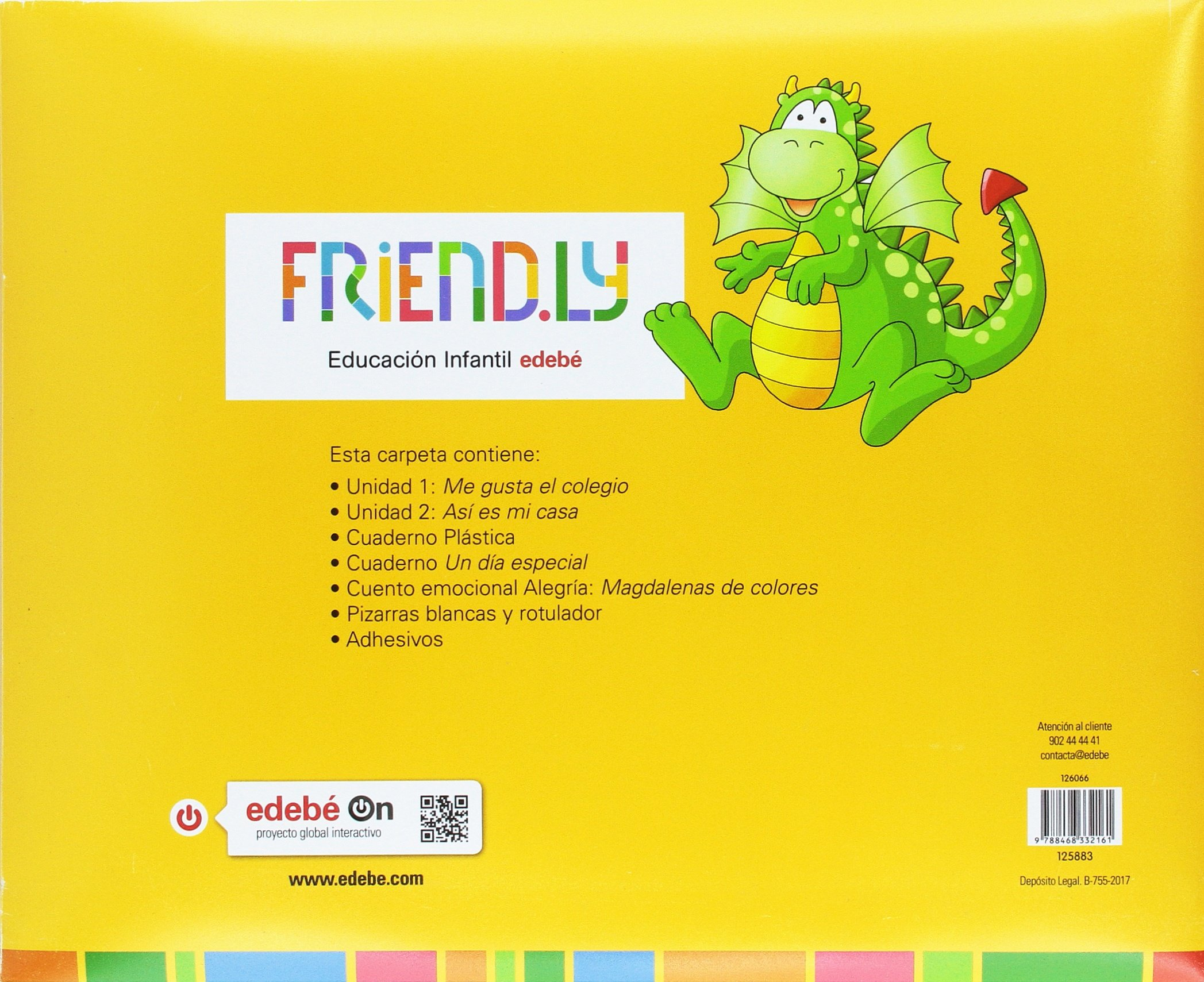 FRIENDLY 3A 1TR: Obra Colectiva Edebé: 9788468332161: Amazon.com: Books