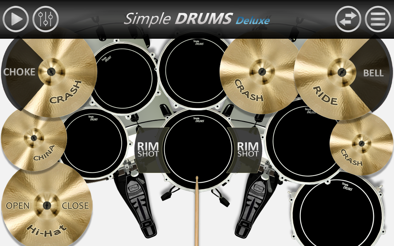 Amazon Com Simple Drums Deluxe Drum Set Appstore For Android