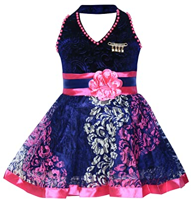 318958ed2 MPC Cute Fashion Kids Girls Baby Dress for Princess Velvet and Soft ...