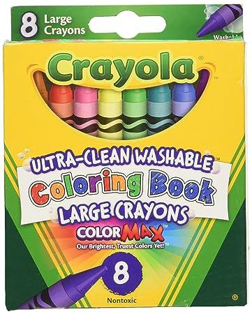 crayola coloring book washable crayons 8pkg - Crayola Coloring Book