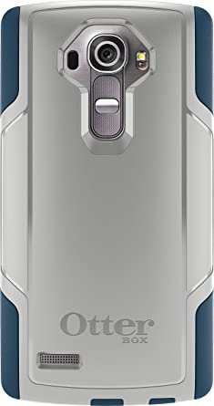 Otterbox Cell Phone Case for LG G4 - Retail Packaging - Sleet Grey/Dark Deep Water Blue