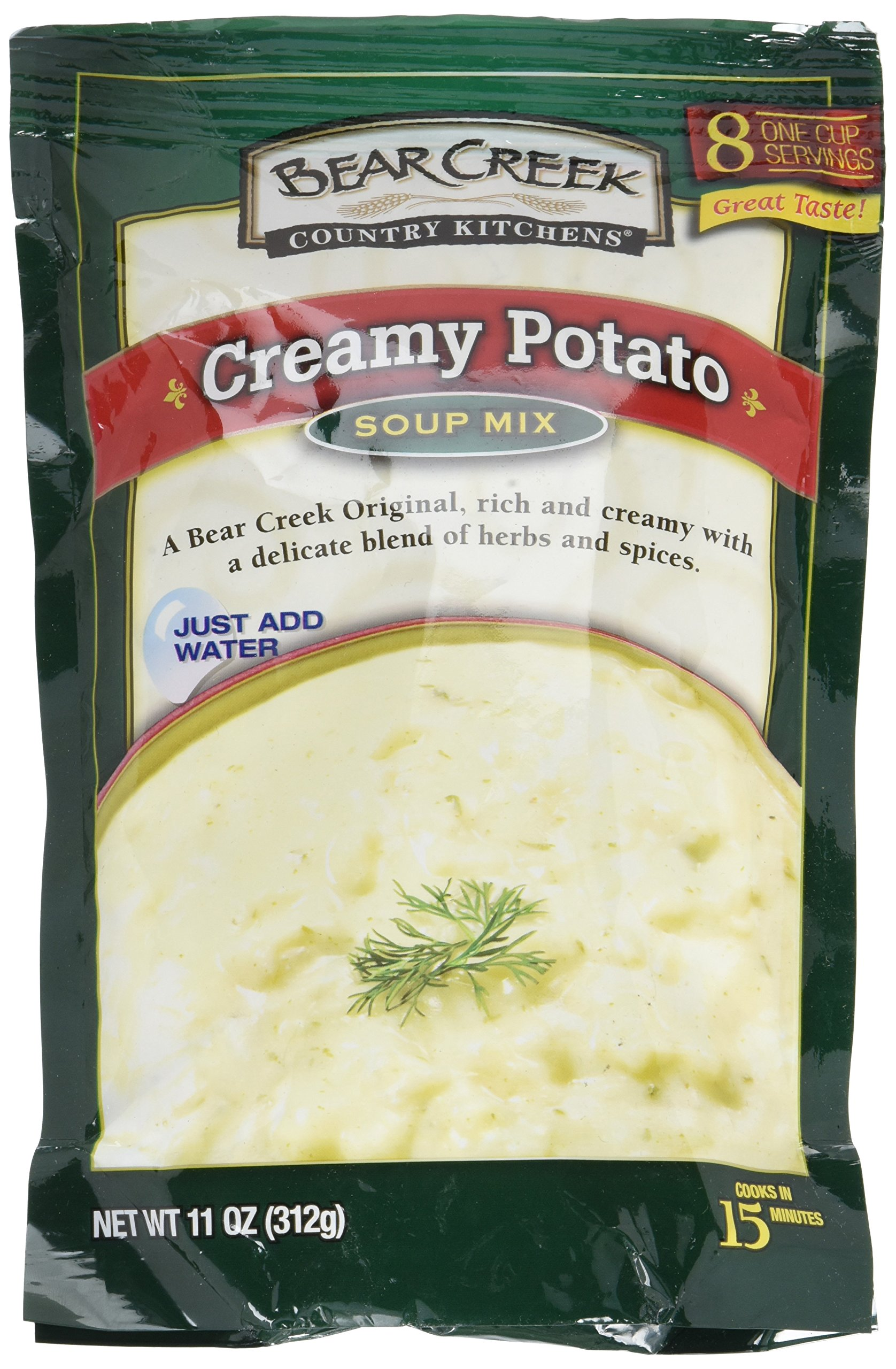 Amazon.com : Bear Creek Country Kitchens Creamy Wild Rice Soup Mix ...