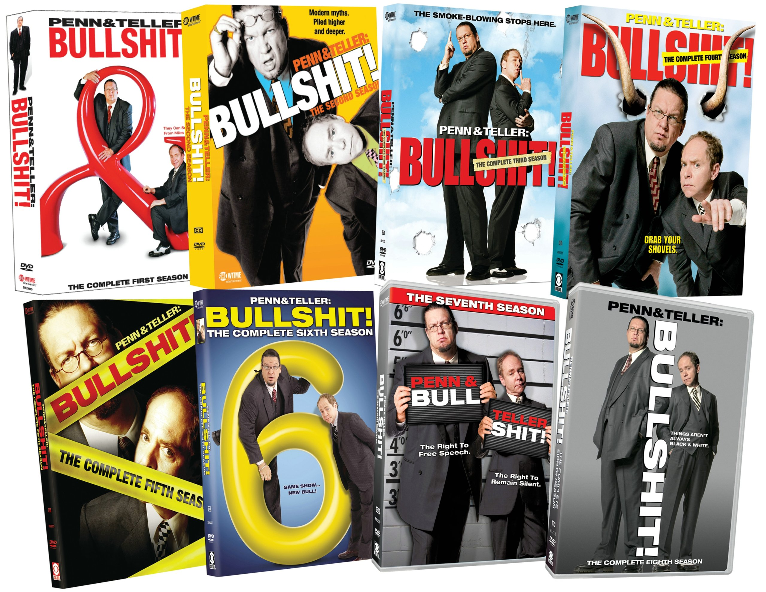 Penn & Teller: Bullshit!: Eight Season Pack by Paramount Home Entertainment