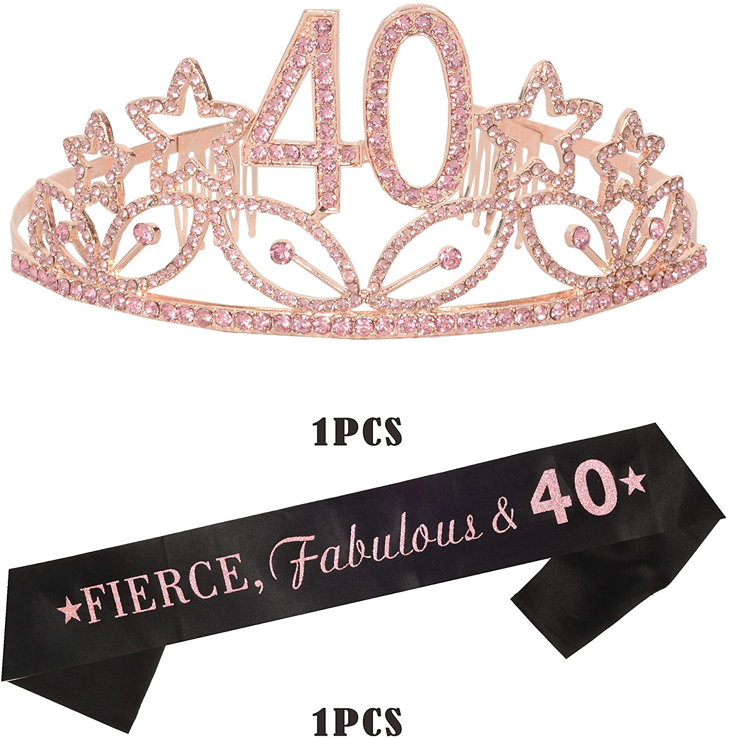 40th Birthday Tiara - Happy Birthday Images