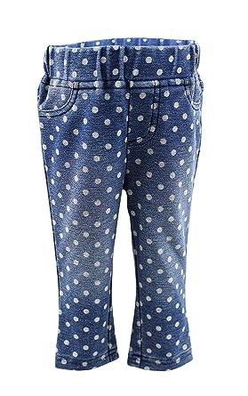 82295e019 Amazon.com  Blu   Blue New York Stella polka dot jeggings  Clothing
