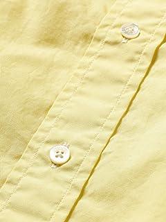 Broadcloth Buttondown Shirt 11-11-5201-139: Lemon Yellow