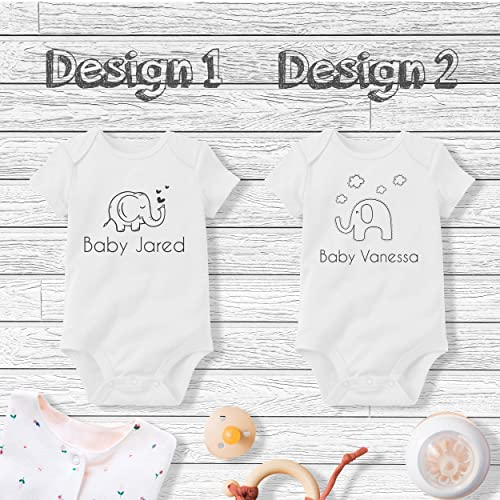 Personalised baby Body suit