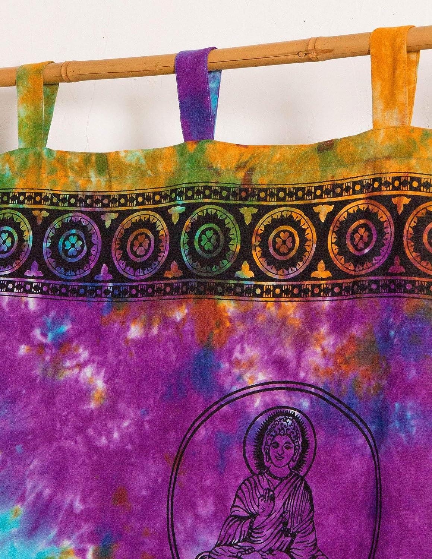 4Rissa Buddha Zen Tie Dye Hippie Wall Hanging Door Window Curtain
