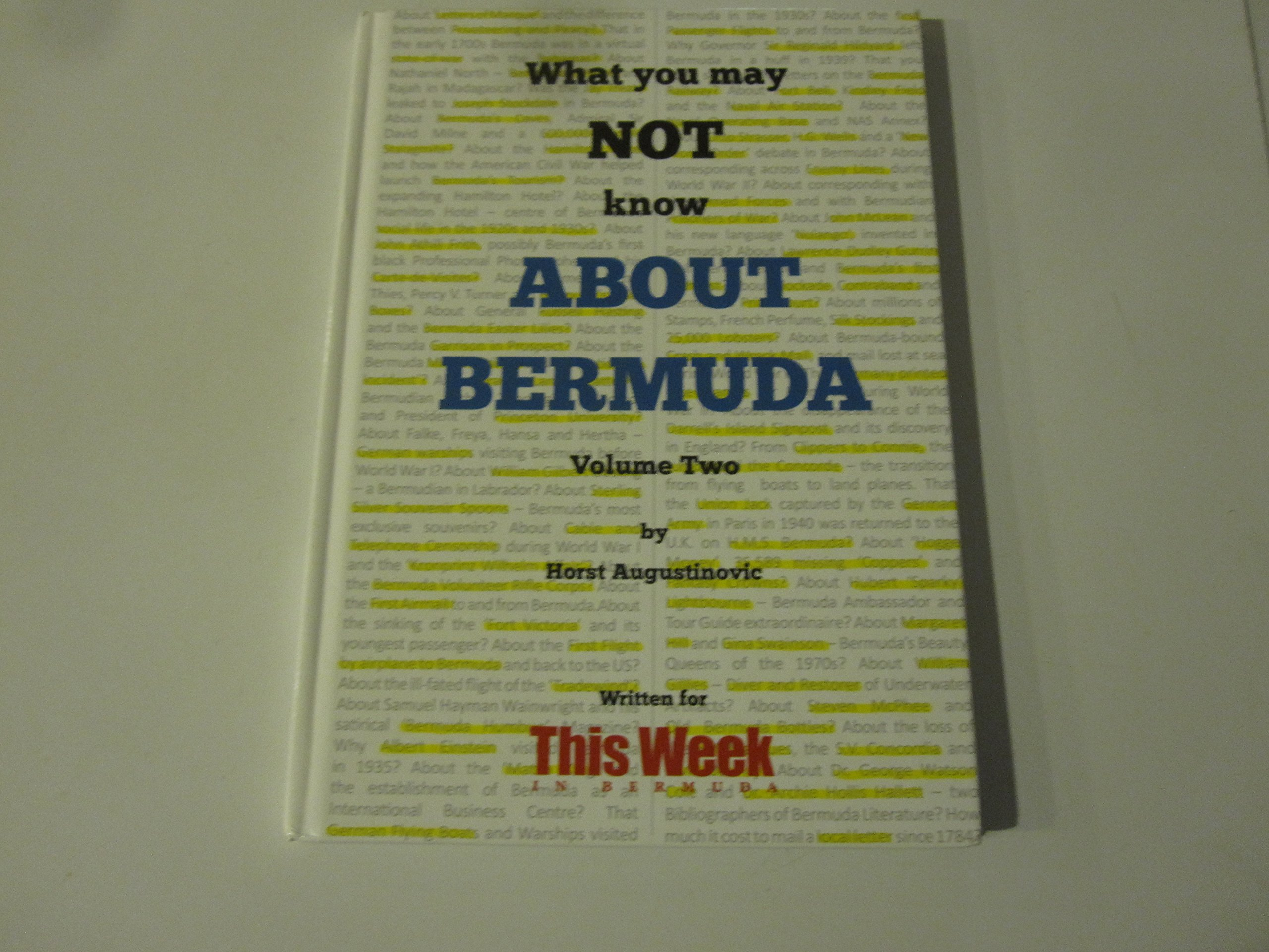 Download What You May Not Know About Bermuda Volume Two pdf